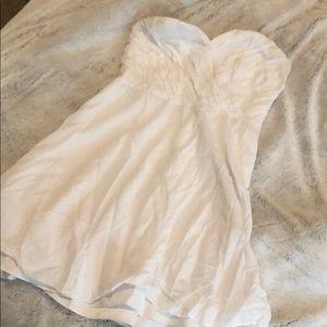 White Express dress